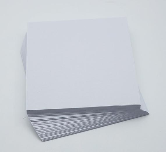 3-500 Origami Paper Sheets White Paper Pack 3 inch Origami Paper Crane