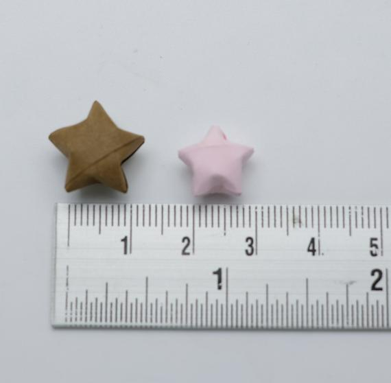 100 Origami Lucky Stars Pink NO.21 , Jar , Gift , Wedding , Home